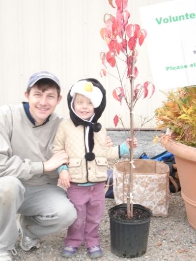 TS Tom Sheldon and daughter